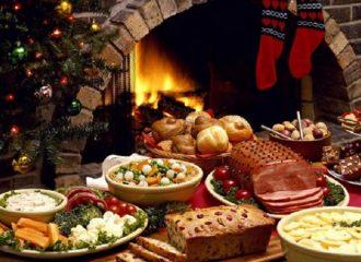Χριστουγεννιάτικο τραπέζι