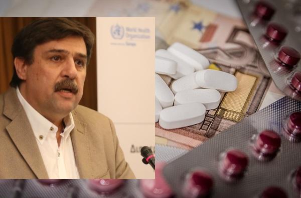 Επιστολή Α. Ξανθού προς τους Συλλόγους Ασθενών για την αλλαγή του τρόπου τιμολόγησης των φαρμάκων
